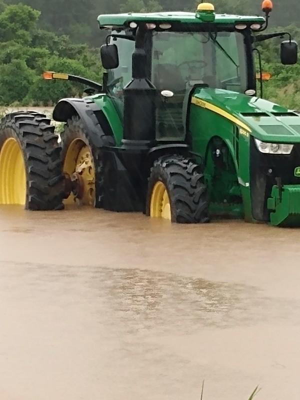 Chicot County, Arkansas, flooding